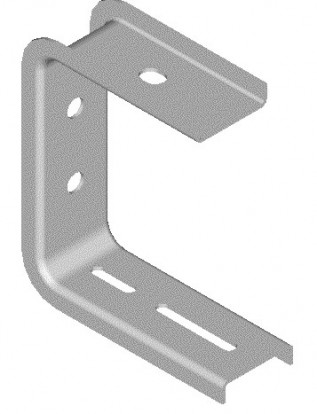 100mm Haley Cable Tray Ceiling Brackets (1/pack)