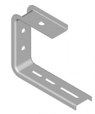 150mm Haley Cable Tray Ceiling Brackets (1/pack)