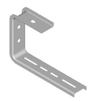 225mm Haley Cable Tray Ceiling Brackets (1/pack)