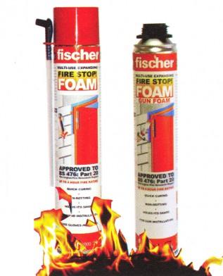 Mechandelec B0 Hand Held Fischer Fire Stop Foam 750ml